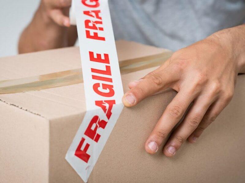 Desmontaje y embalaje de sus pertenecías